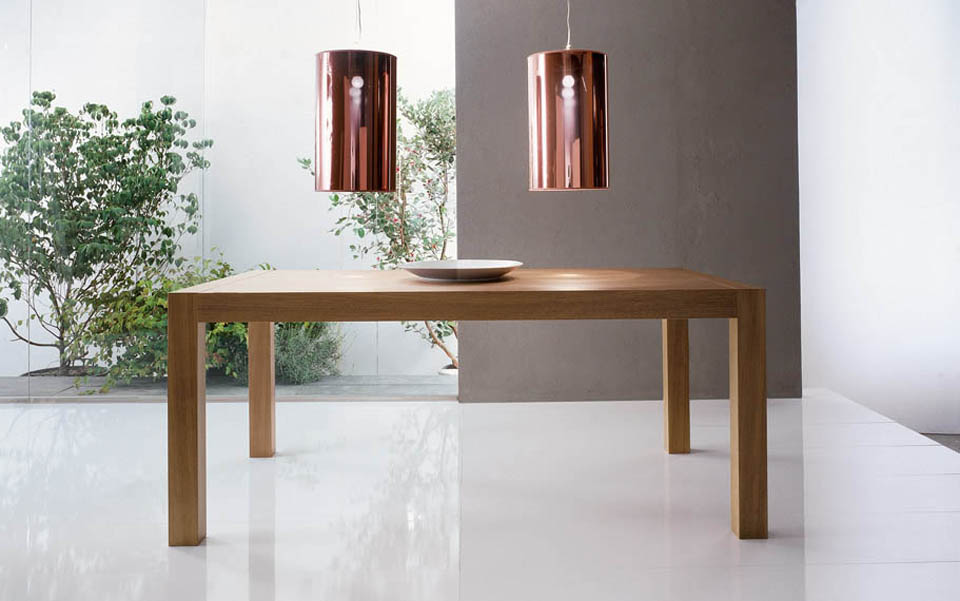 Mobili lavelli tavoli moderni allungabili for Tavoli pranzo moderni