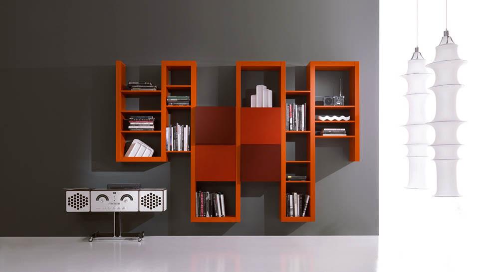 Librerie moderne design la scelta giusta variata sul for Librerie angolari moderne