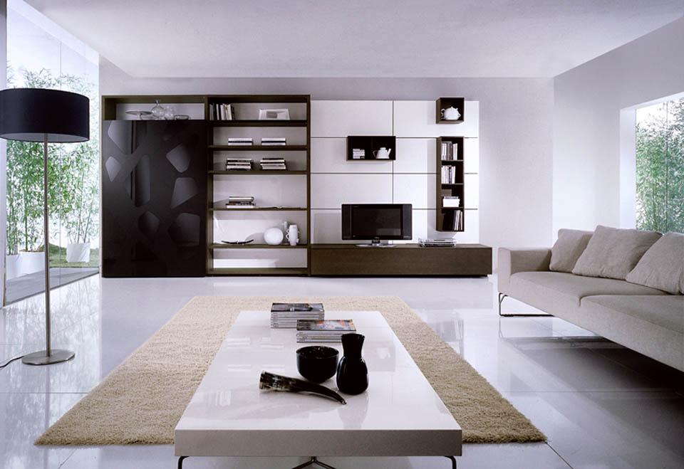 Soggiorni moderni soggiorni moderni porta tv librerie for Foto soggiorni moderni