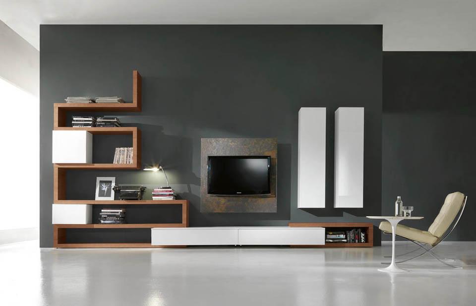 Porta tv moderni, soggiorni moderni porta tv orientabili e girevoli