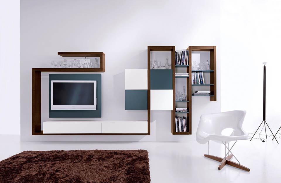 Porta tv moderni, soggiorni moderni con porta tv