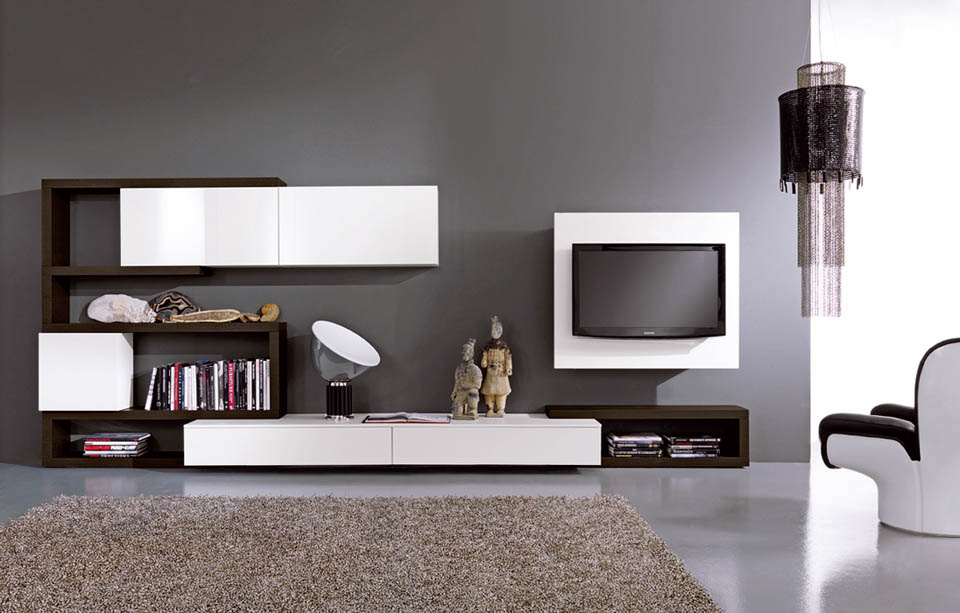 Porta Tv Moderni. Mobile Tv Dal Design Moderno N With Porta Tv ...