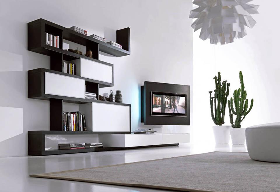 Mobile Tv Moderno Sospeso : Soggiorni porta tv orientabili e girevoli mobili con porta tv